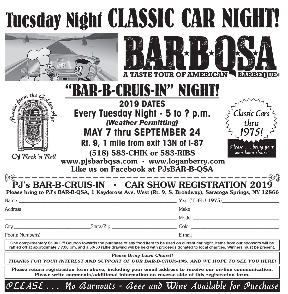 Classic Car Night Flyer