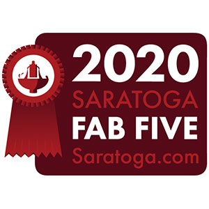 Saratoga Fab 5 Awards