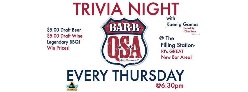 Loganberry  Thursday Trivia Night ... fc2234f82